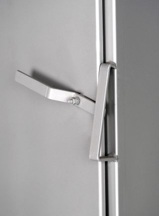 Self-Adjusting Door Latch