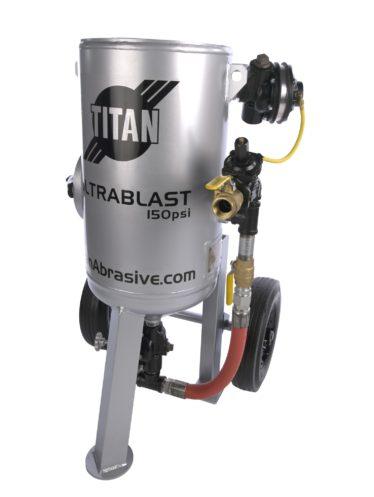 Titan U300 sandblast machine
