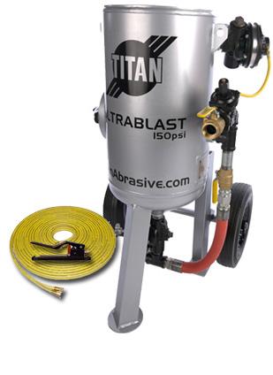 300lb - Package A sand blast machine