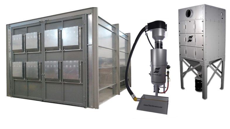 10' x 10' x 15' Vacuum Reclaim System